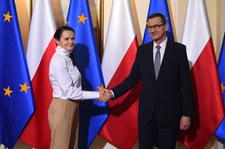 Swiatłana Cichanouska dziękuje za plan dla Bialorusi