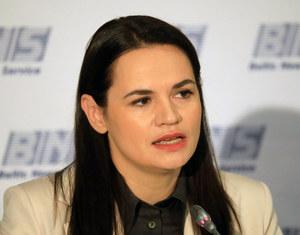 Swiatłana Cichanouska: Jesteśmy gotowi do rozmów z rządem