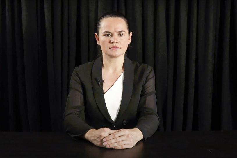 Swiatłana Cichanouska, kandydatka w niedawnych wyborach prezydenckich na Białorusi /SVIATLANA TSIKHANOUSKAYA CAMPAIGN OFFICE /East News