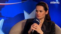 Swiatłana Cichanouska: U nas cały naród to opozycja