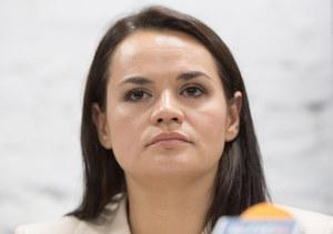 Swiatłana Cichanouska wezwała Białorusinów do kontynuowania strajków