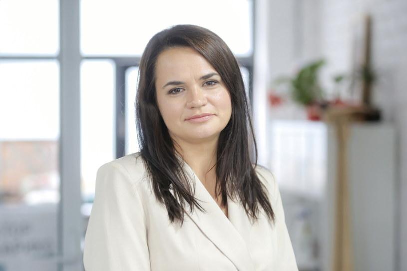 Swiatłana Cichanouska /Anna Ivanova /PAP/EPA