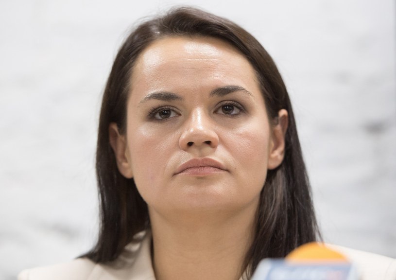 Swiatłana Cichanouska /SPUTNIK Russia /East News