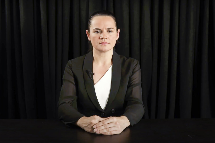 Swiatłana Cichanouska /SVIATLANA TSIKHANOUSKAYA CAMPAIGN OFFICE /East News