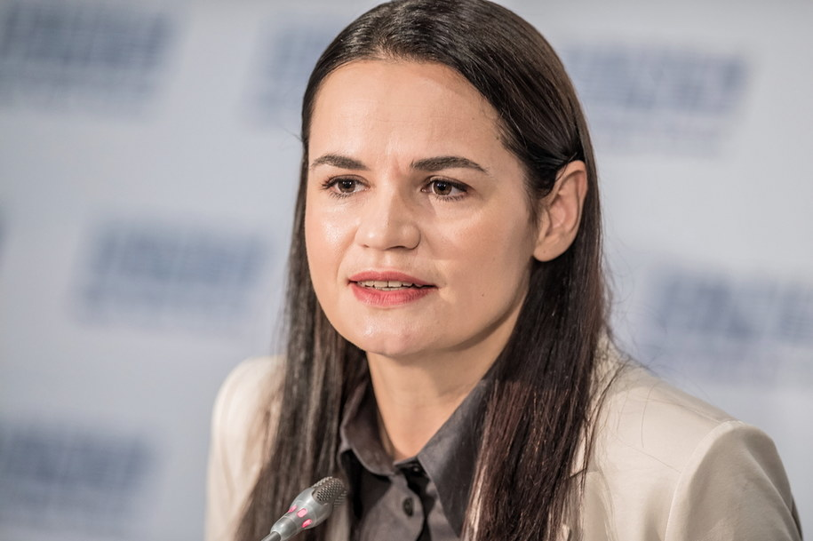 Swiatłana Cichanouska /Valdemar Doveiko /PAP/EPA
