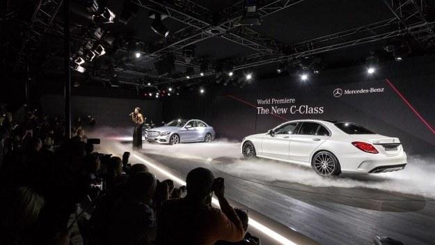Światowa premiera nowego Mercedesa klasy C, 13 stycznia 2014 r. /Mercedes
