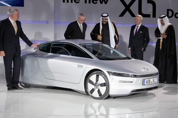Światowa premiera volkswagena XL1 w Katarze /