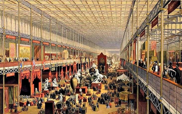 Światowa wystawa w 1851 r. stała się dla Stiebera teatrem działań /materiały prasowe