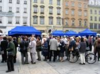 Światowy Dzień Serca na krakowskim Rynku /RMF