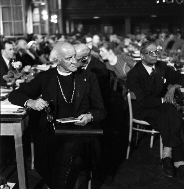 Światowy Kongres Intelektualistów w Obronie Pokoju, Wrocław, 1948 /Władysław Sławny /Agencja FORUM