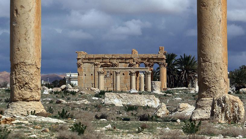 Świątynia Baal-Shamin /AFP