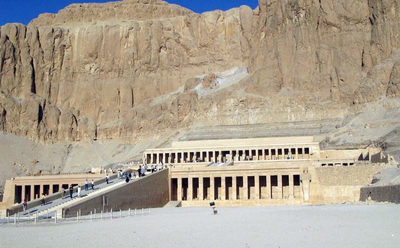 Świątynia Hatszepsut koło Luksoru /AFP