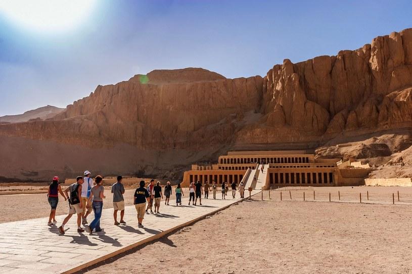 Świątynia Hatszepsut w Egipcie /Woody Ochnio /East News