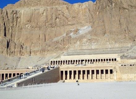 Świątynia Hatszepsut w Luksorze /AFP