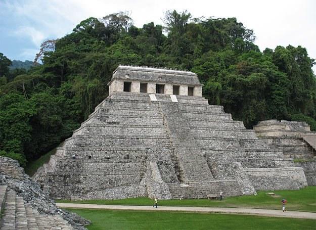 Świątynia Inskrypcji, wewnątrz której został pochowany Pakal Wielki /Wiedza i Życie