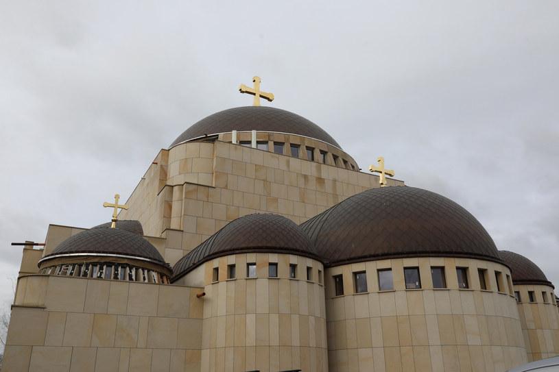 Świątynia prawosławna Hagia Sophia w trakcie budowy (02.02.2020) /Piotr Molecki/East News /East News