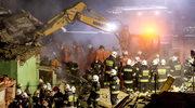Świebodzice: Na miejscu katastrofy znaleziono granat moździerzowy