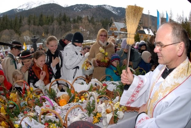 Święcenie pokarmów w Zakopanem / fot. A. Gladecki /Reporter
