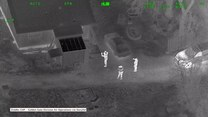 Świecił laserem w policyjny helikopter. Został zatrzymany jeszcze tej samej nocy