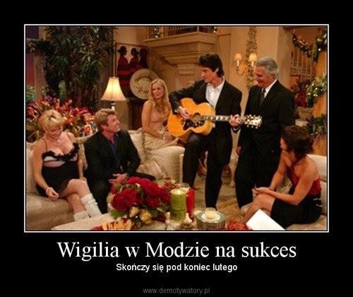 """Święta w """"Modzie na sukces"""" /Demotywatory.pl /internet"""