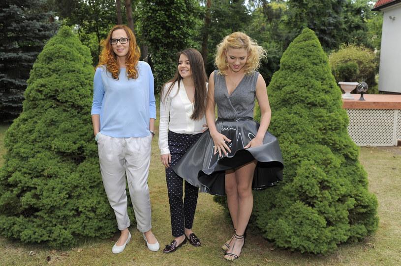 Swietłana (Anna Maria Buczek), Olya (Katarzyna Ucherska) i Polina (Magdalena Wróbel) /Gałązka /AKPA