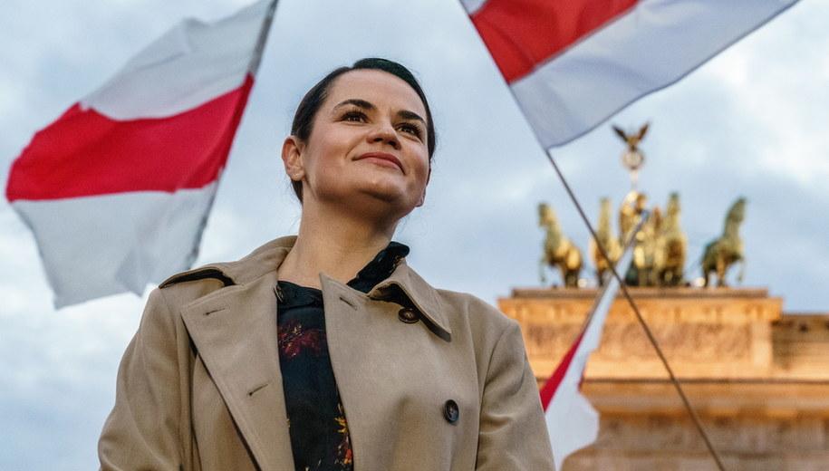 Swietłana Cichanouska /Clemens Bilan /PAP/EPA