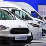 Świetna sprzedaż samochodów użytkowych Forda