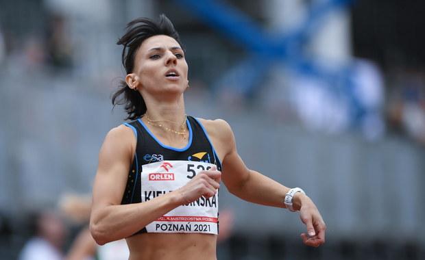 Świetny wynik Anny Kiełbasińskiej w biegu na 400 m
