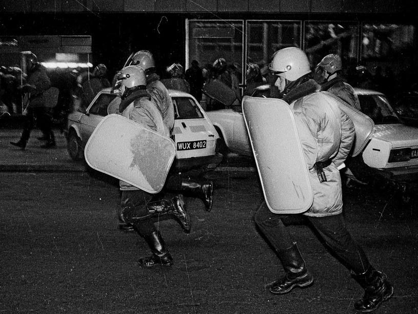 Święto Niepodległości w 1984 roku nie przechodziło spokojnie... /Wojtek Laski /East News