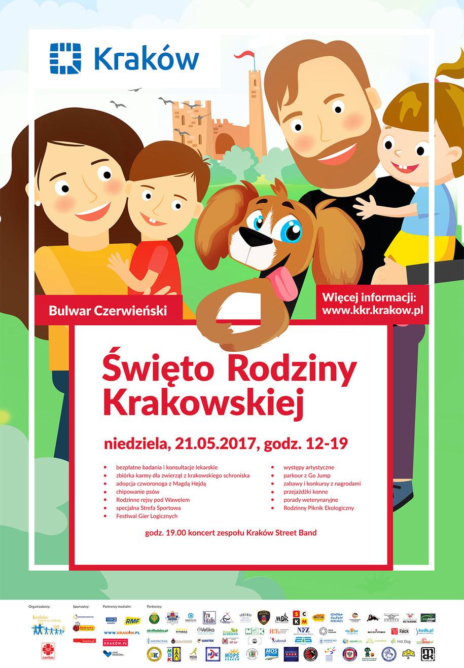 Święto Rodziny Krakowskiej /Urząd Miasta Krakowa /Materiały prasowe