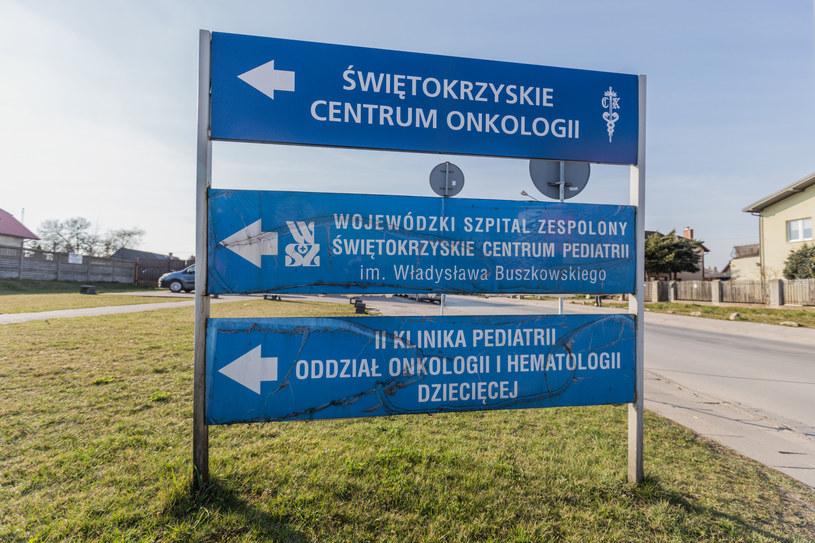 Świętokrzyskie Centrum Onkologii /Grzegorz Ksel/REPORTER /Reporter