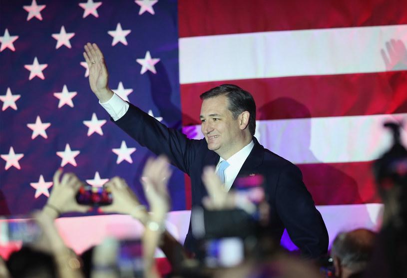 Świętujący zwycięstwo Ted Cruz /AFP