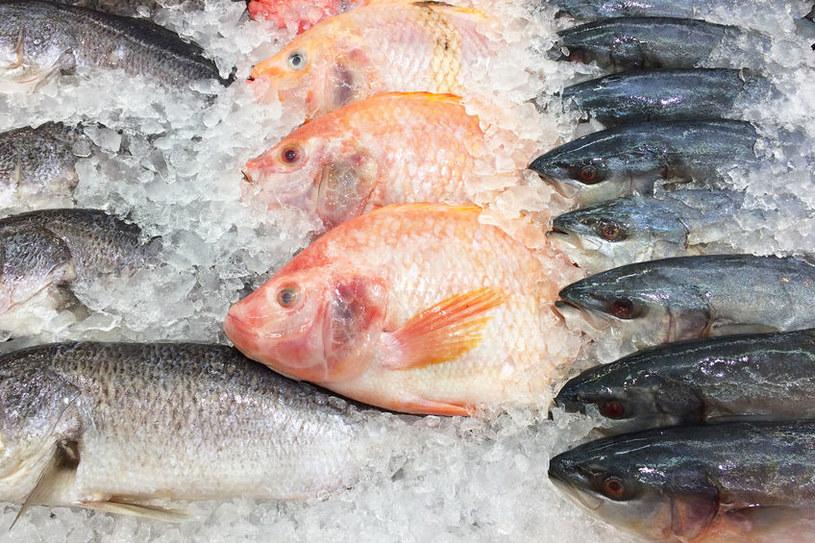 Świeże ryby w sklepie /©123RF/PICSEL
