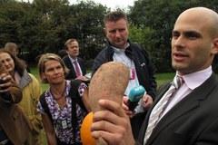 Świeże warzywa z ogródka Michelle Obamy