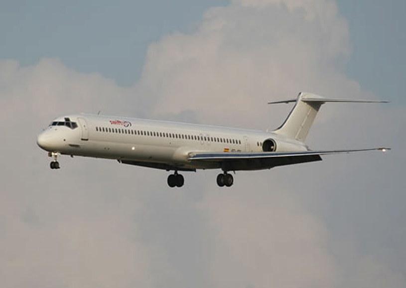Swiftair McDonnell Douglas MD-83, zdjęcie ilustracyjne /PAP/EPA