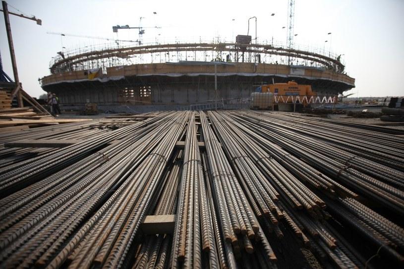 Świnoujście, plac budowy terminalu LNG /Daniel Szysz /Reporter