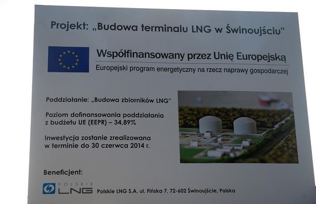 Świnoujski gazoport to inwestycja strategiczna dla Polski, fot. Łukasz Solski /Agencja SE/East News