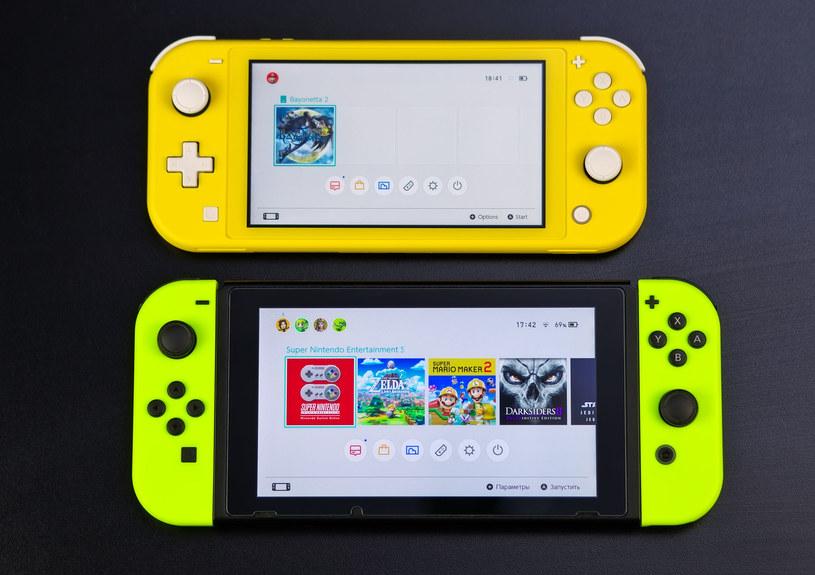 Switch Lite jest mniejszy i lżejszy od swojego większego brata - różnica w wadze wynosi około 118 g. Podczas dłuższych sesji z konsolą ma to znacznie, szczególnie dla dzieci /123RF/PICSEL