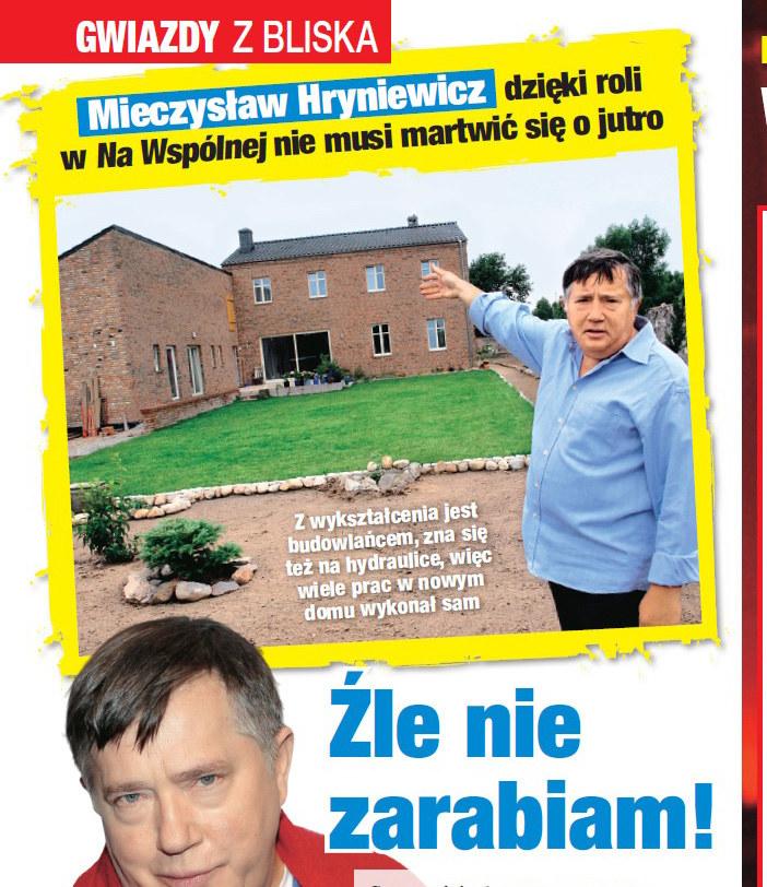 """Swój dom Mieczysław Hryniewicz pokazał w """"Twoim Imperium"""" /Twoje Imperium"""