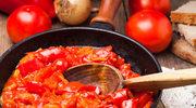 Sycące leczo z pomidorami