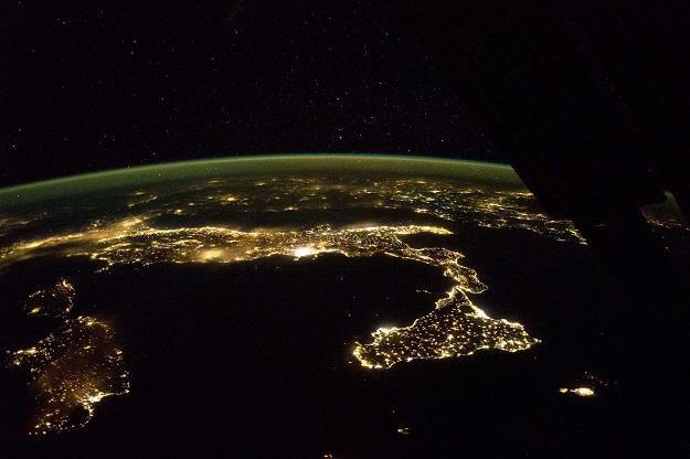 Sycylia widok z Międzynarodowej Stacji Kosmicznej (ISS) /IAR/PAP