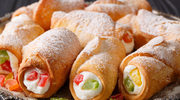 Sycylijskie rurki cannoli