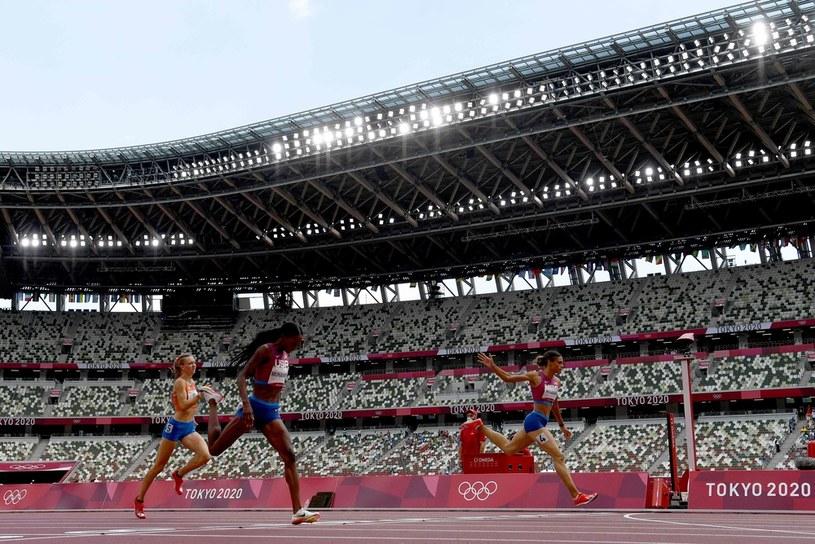 Sydney Mclaughlin pobiła rekord świata /JEWEL SAMAD /AFP