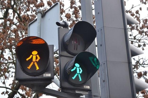 Sygnalizacja świetlna w Bydgoszczy /Paweł Balinowski /RMF FM