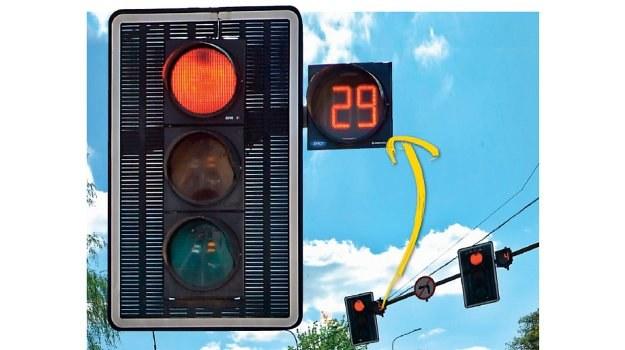 sygnalizator z sekundnikiem /Motor