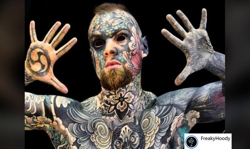 Sylvain, znany jako Freaky Hoody /facebook.com