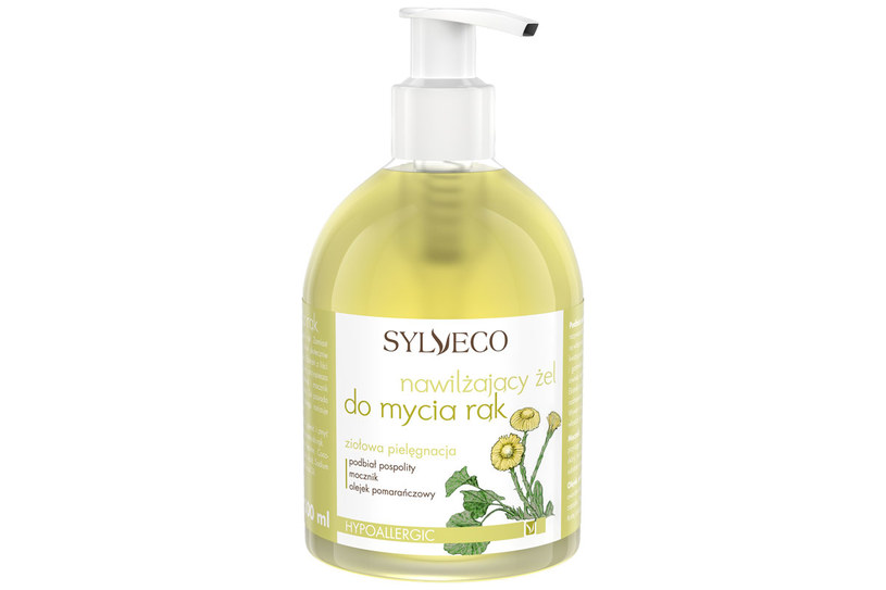 Sylveco: Nawilżający żel do mycia rąk /materiały prasowe