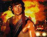Sylvester Stallone jako Rambo /
