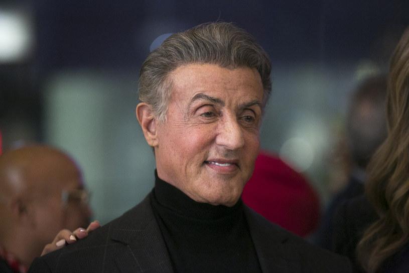 Sylvester Stallone nie wstydzi się zmarszczek /Gabriel Olsen/FilmMagic /Getty Images