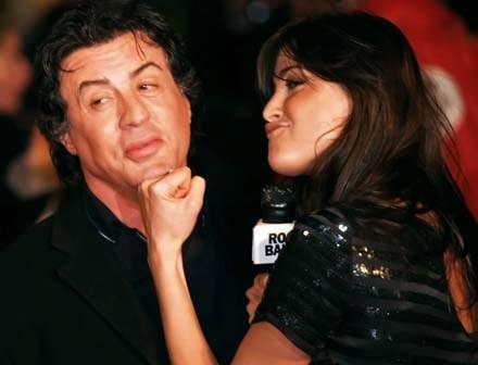 Sylvester Stallone przestraszył się także Mike'a Tysona /AFP